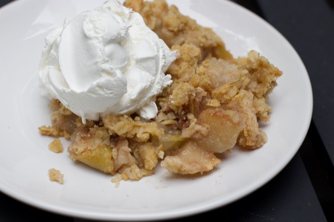 Super Easy Apple Crisp Recipe