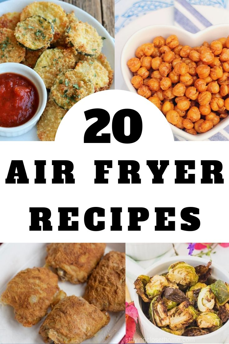 20 Air Fryer Reciopes