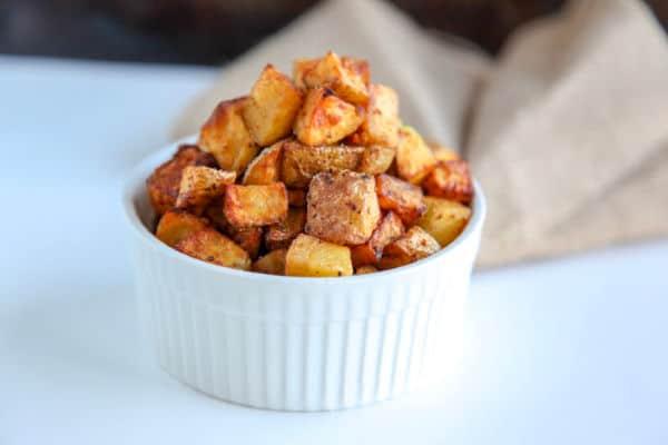 Crispy Air Fryer Potatoes | whole30, paleo, vegan recipe