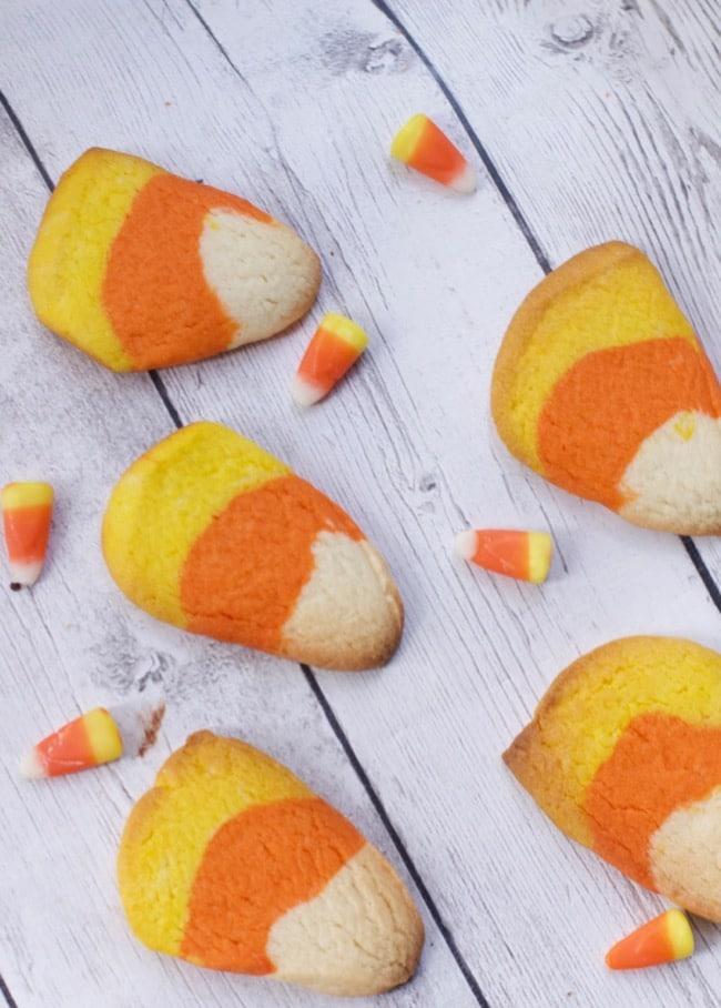 Halloween Cookie Recipe Idea (Candy Corn Cookie)