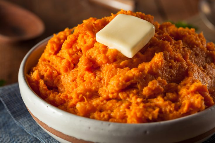 Savory Instant Pot Mashed Sweet Potatoes