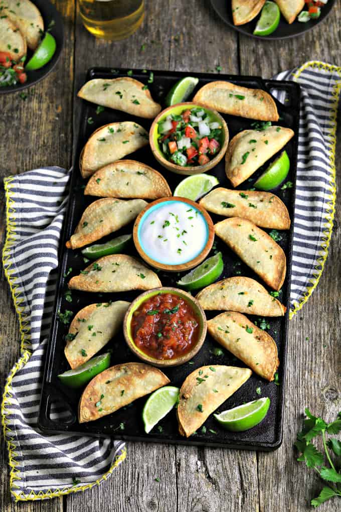 Potato Air Fryer Tacos - A Game Day Favorite!