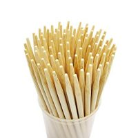 5.5 inch  Thick Bamboo Sticks for Caramel Candy Apple