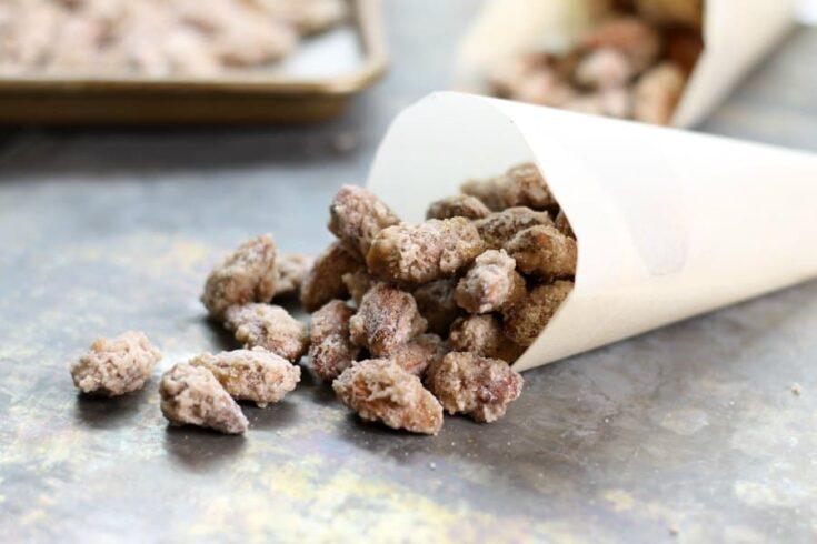 Candied Almonds (Gebrannte Mandeln)