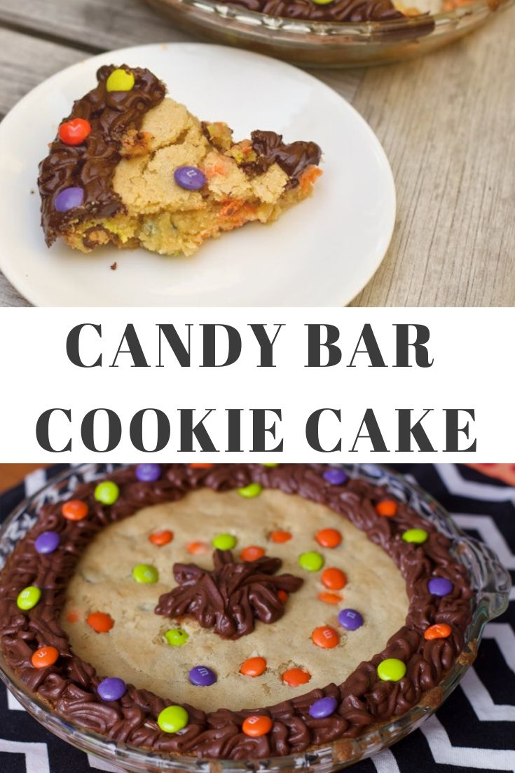 candy bar cookie cake recipe