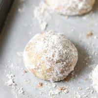 Chai-Spiced Snowball Cookies