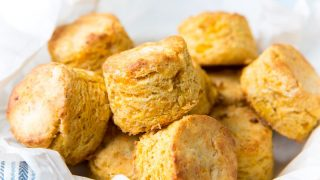 Cheddar Corn Biscuits (Flaky & Delicious)