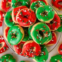 Christmas Donut Cookies