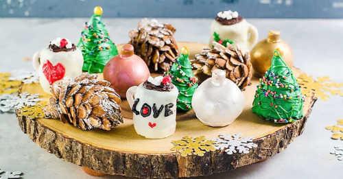 Christmas OREO Cookie Balls (Decorating Tutorial)