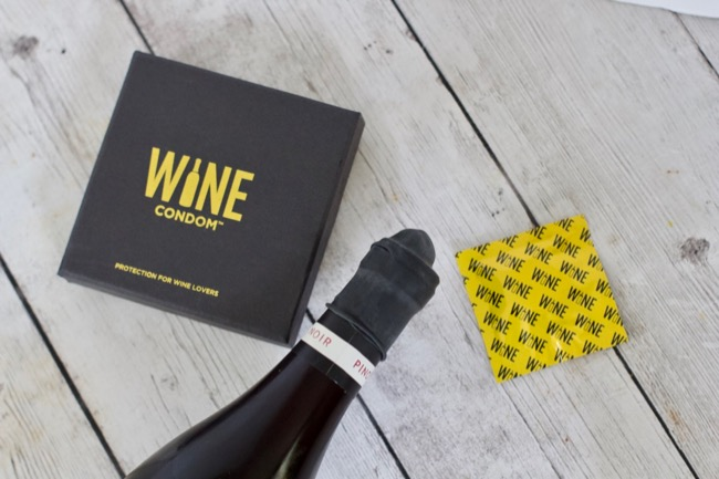 Official WINE CONDOMS® bottle stoppers