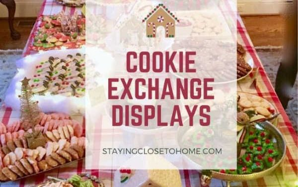 Best Cookie Exchange Cookie Displays
