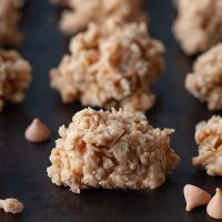 Foolproof No Bake Oatmeal Butterscotch Cookies