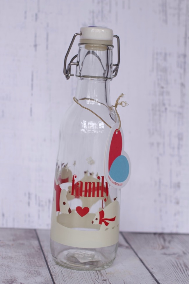 Beautiful Reusable Glass Water Bottles