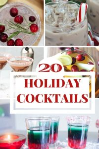20 Holiday Cocktails