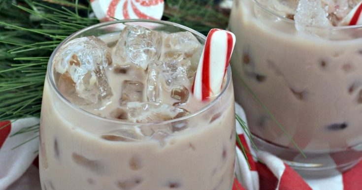 Chocolate Peppermint White Russian Cocktail Recipe