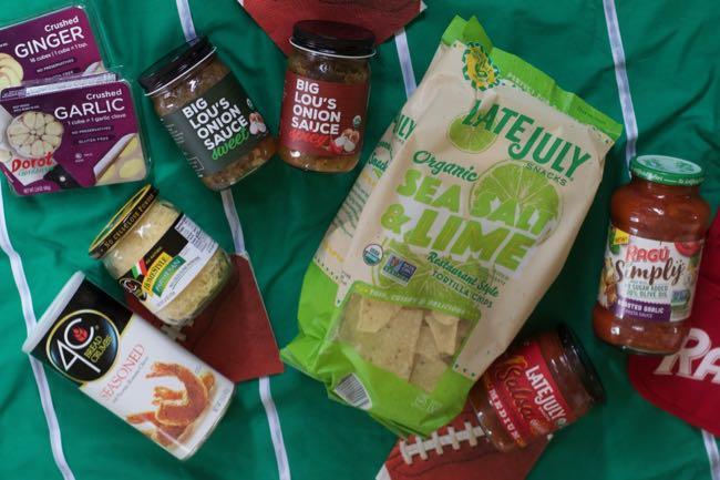 Game Day Snacks Ingredients