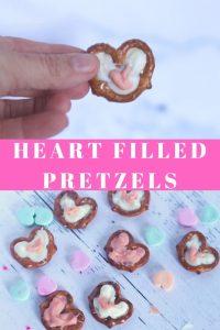 Heart Filled Pretzels