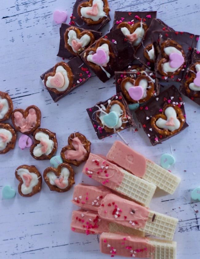 no bake valentines day snacks