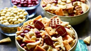Easy Game Day Snack Mix - Game Day Food Recipe