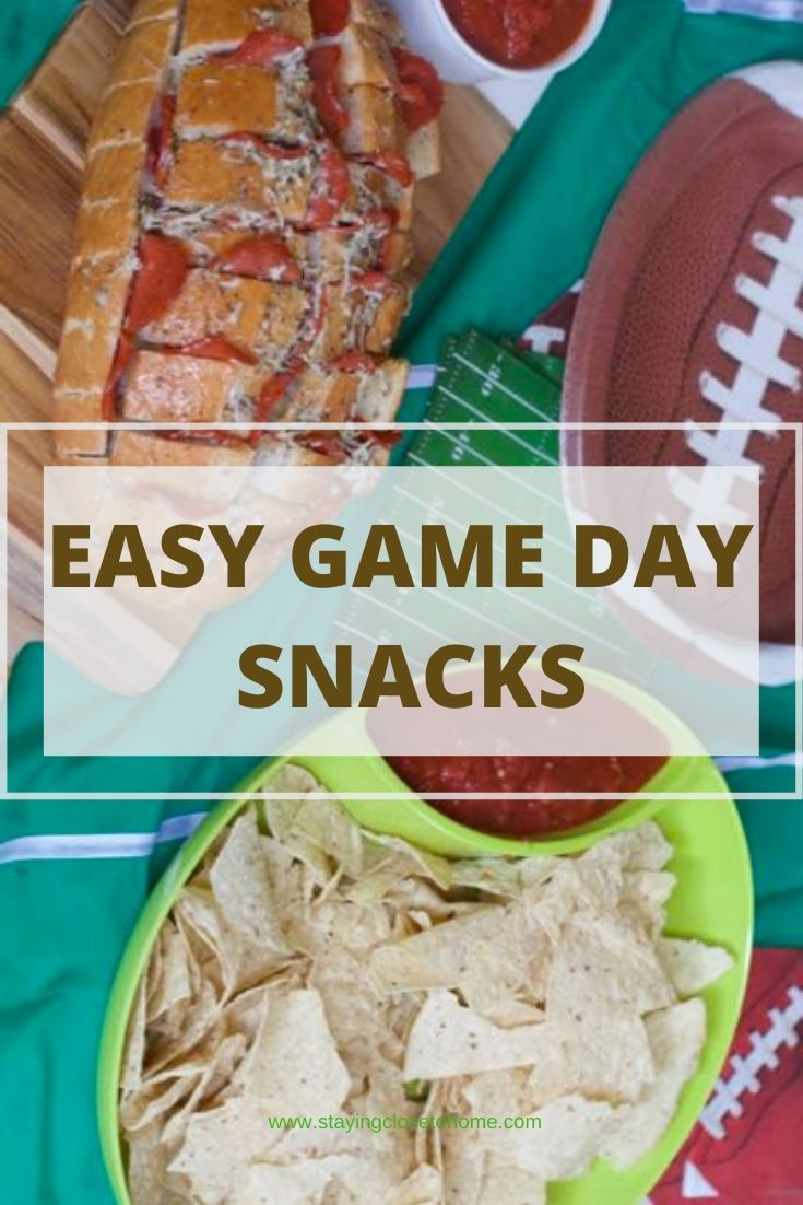 easy game day snack ideas