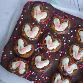 No Bake Valentines Day Bark