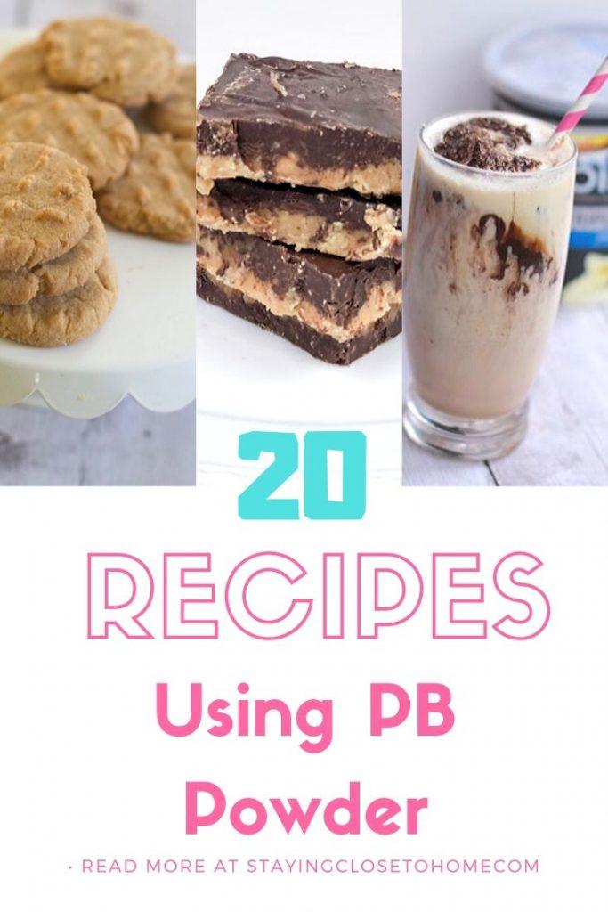 20 recipes using peanut powder