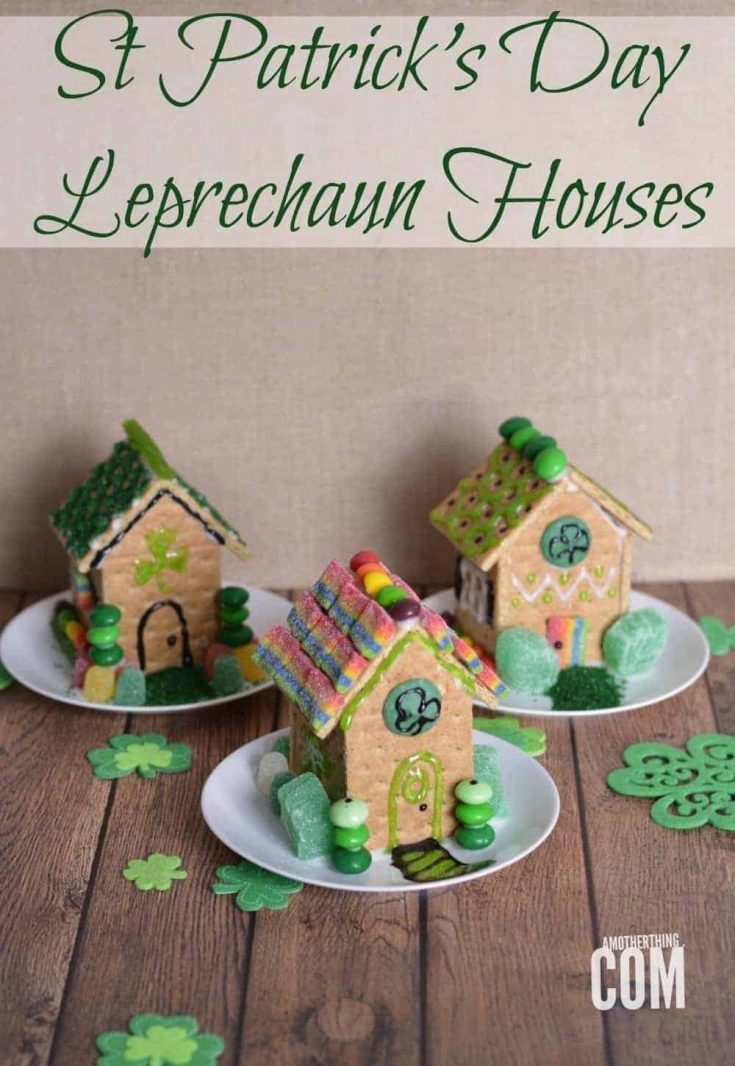 St Patrick's Day Leprechaun Houses