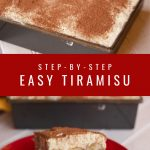 TIRAMISU RECIPE STEP BY STEP
