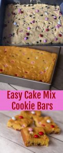 Dessert for a crowd, cake mix cookie bars
