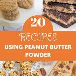 recipes using peanut powder