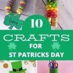 crafts for kids st patricks day