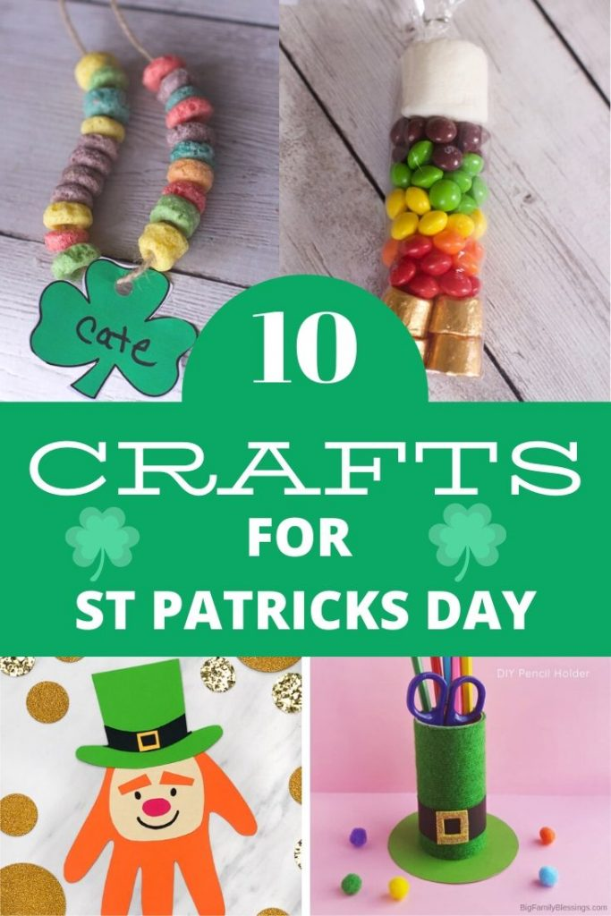 crafts for kids st patricks day