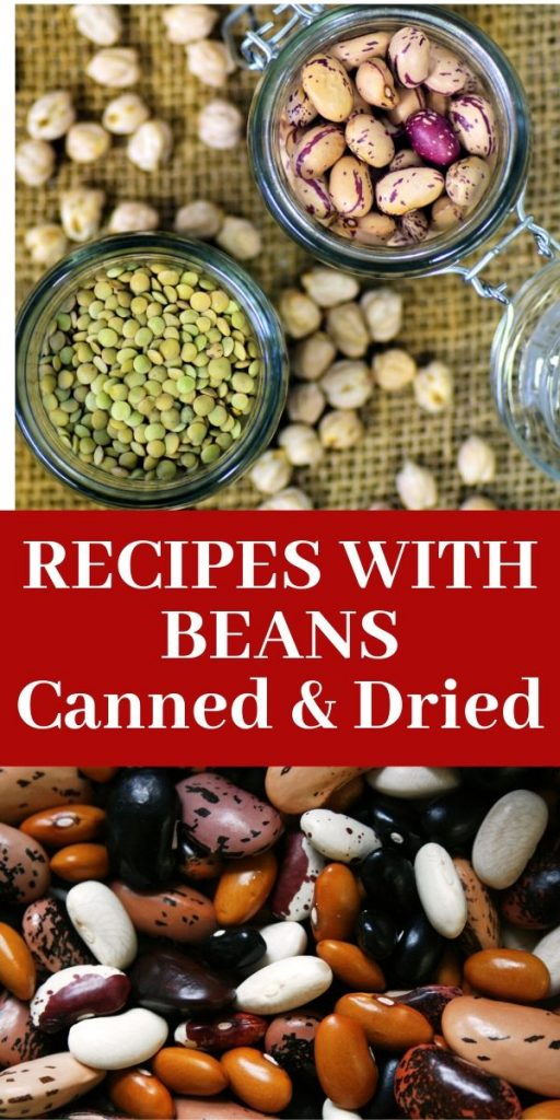 RECIPES WITH BEANS