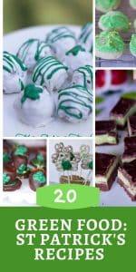 Green Food Ideas: st patricks day