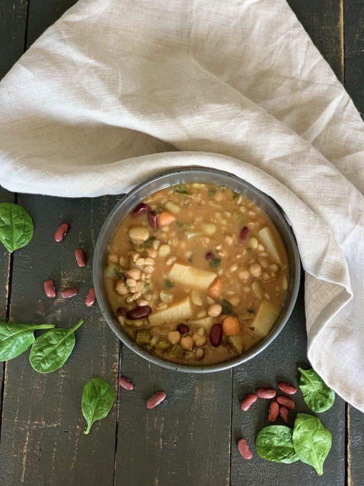 Italian Bean Soup - Food Fun & Faraway Places