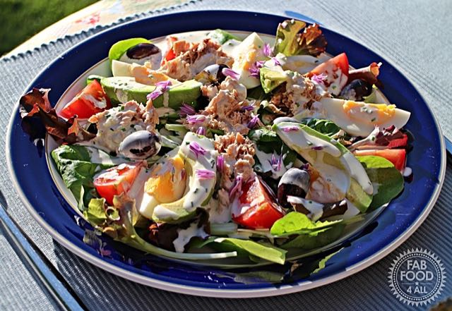 Quick Nicoise Style Salad - a fab summer salad!