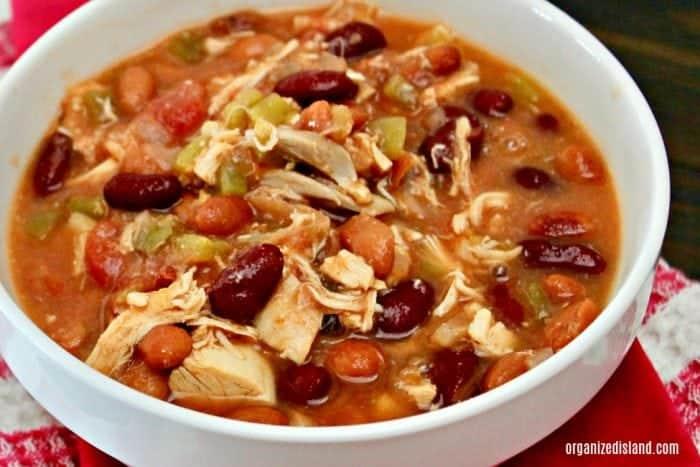 Zero Points Slightly Spicy Chicken Chili Recipe