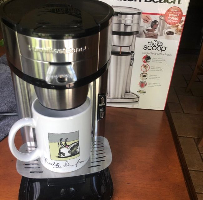 The Scoop Coffee Maker Great GIFT FOR GRADS