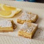 Yogurt Lemon Bars Recipe