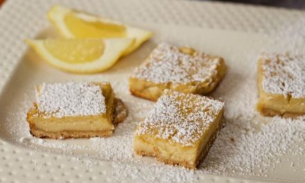 Yogurt Lemon Bars Recipe