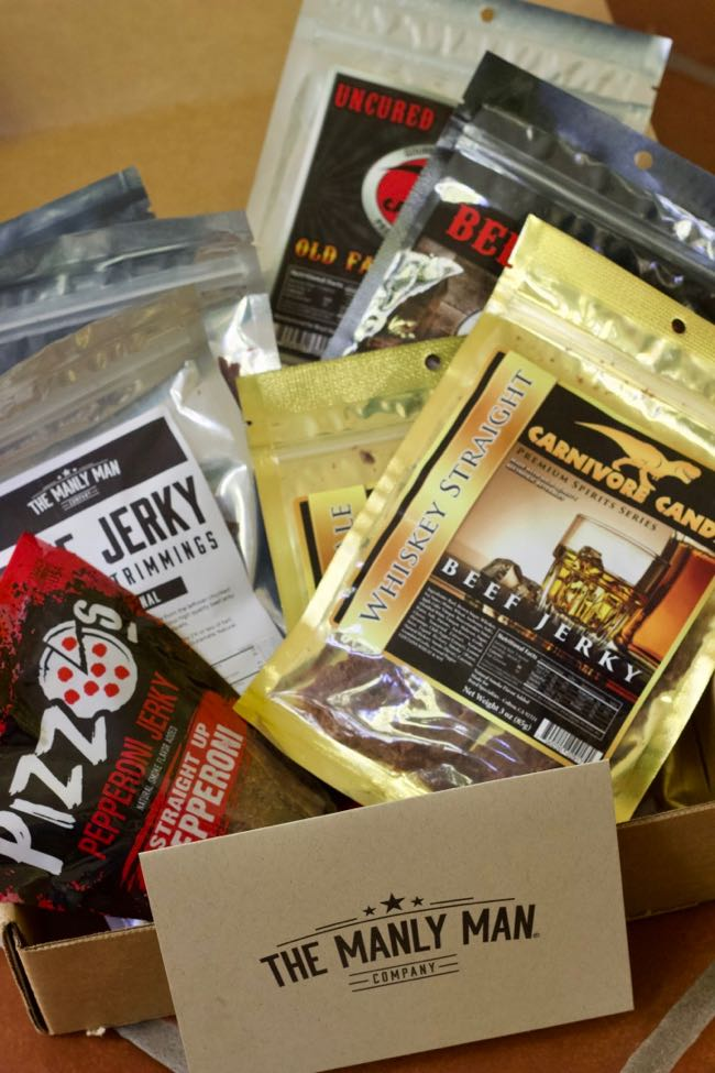 beef jerky gift basket for dads