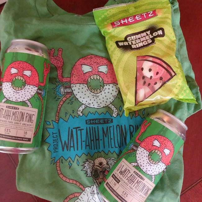 "Sheetz's ""Project Watt-Ahh-Melon Ring,"" a new limited-edition craft beer"