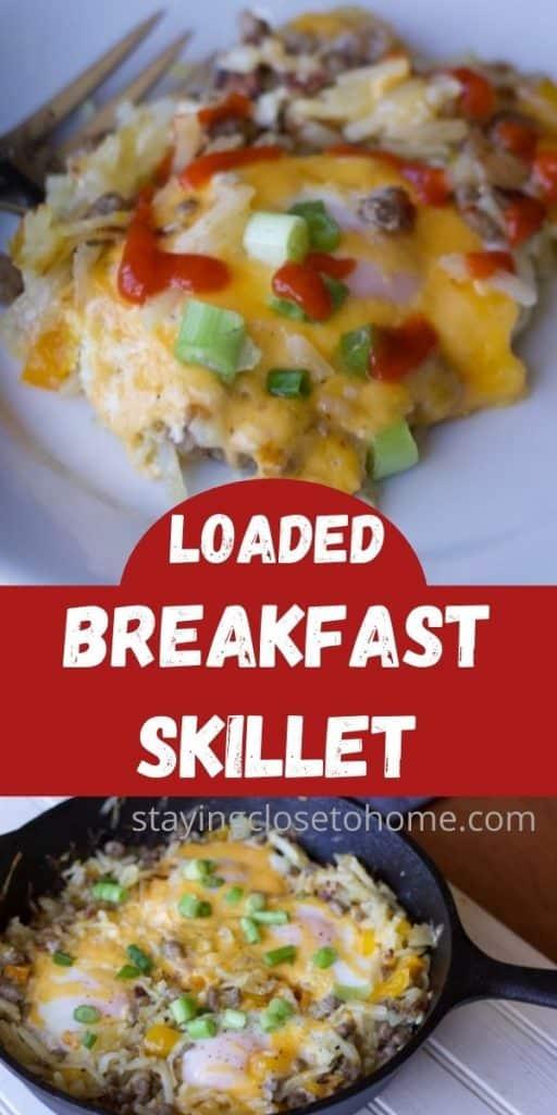 easy loaded breakfast skillet recipe