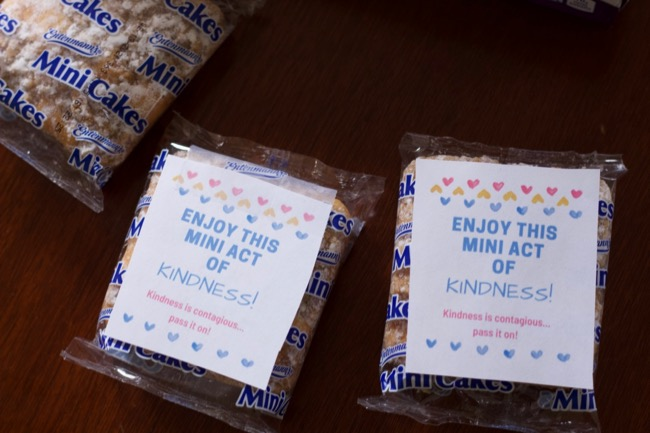 mini act of kindness day idea