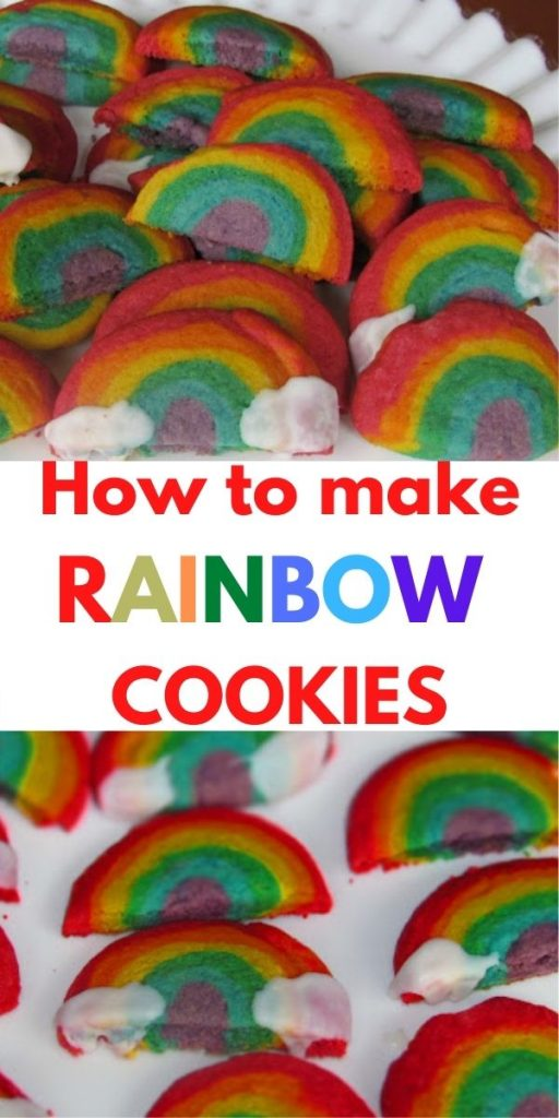 how to make rainbow cookies
