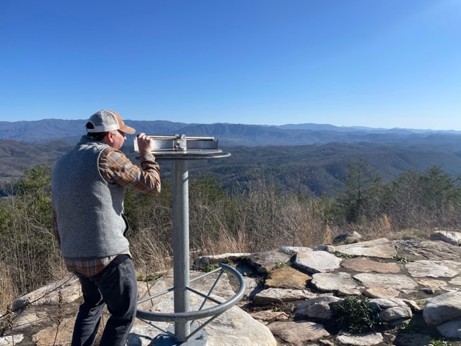 hiking blackberry mountain