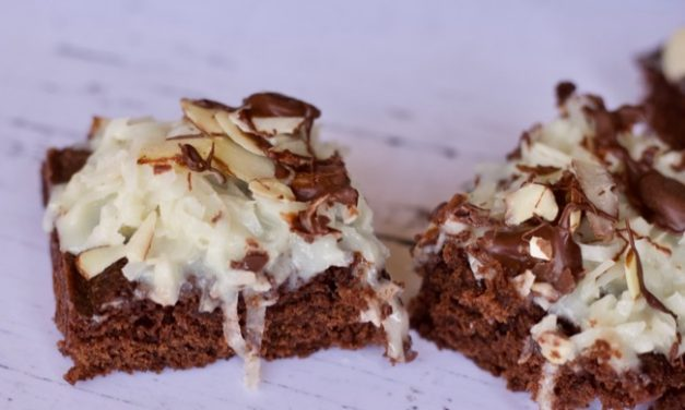 Almond Joy Brownies (From A Box Mix)
