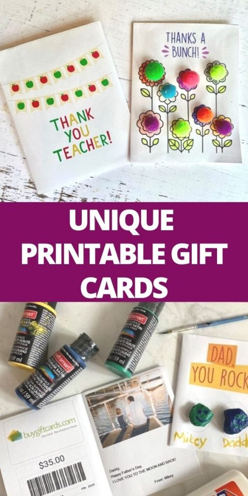 pin unique printable gift cards from buygiftcards.com