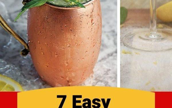 7 Easy-To-Make Cocktails To Serve at Your Next Party