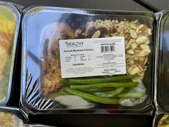 fresh microwave dinner entrees